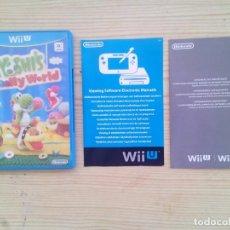 Nintendo Wii U: NINTENDO WII U YOSHI'S WOOLLY WORLD - CAJA SIN INSTRUCCIONES - SIN JUEGO. Lote 130999448