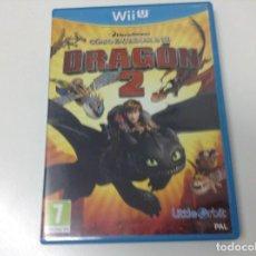 Nintendo Wii U: COMO ENTRENAR A TU DRAGON 2. Lote 131866310