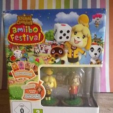 Nintendo Wii U: AMIIBO FESTIVAL ANIMAL CROSSING WIIU NINTENDO. Lote 131991758