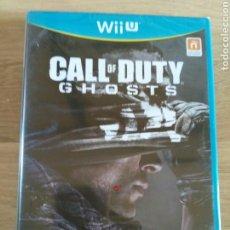 Nintendo Wii U: NINTENDO WIIU JUEGO CALL OF DUTY GHOSTS NUEVO. Lote 132381534