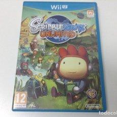 Nintendo Wii U: SCRIBBLE NAUTS UNLIMITED. Lote 132845062