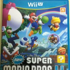 Nintendo Wii U: NEW SUPER MARIO BROS U - WII U. Lote 133765942