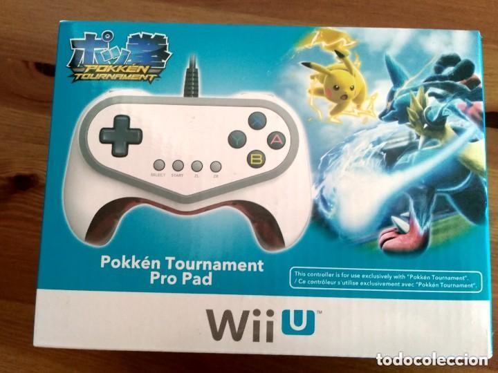 MANDO PRO PAD POKKEN TOURNAMENT WIIU DE HORI NUEVO (Juguetes - Videojuegos y Consolas - Nintendo - Wii U)