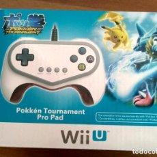 Nintendo Wii U: MANDO PRO PAD POKKEN TOURNAMENT WIIU DE HORI NUEVO. Lote 134437102