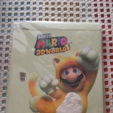 Nintendo Wii U: SUPER MARIO 3D WORLD CAJA CARTON LIMITADA PELO DE GATO NUEVA NINTENDO WIIU WII-U WII U KREATEN. Lote 262257820
