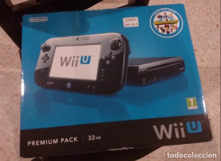 LOTE WII U PREMIUM PACK 32GB, BALANCE BOARD, MANDOS, JUEGOS... (Juguetes - Videojuegos y Consolas - Nintendo - Wii U)