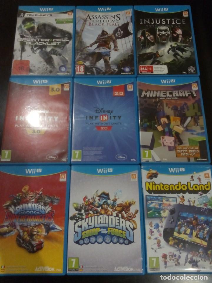 Nintendo Wii U: LOTE Wii U PREMIUM PACK 32GB, BALANCE BOARD, MANDOS, JUEGOS... - Foto 9 - 136806794