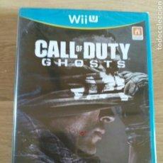 Nintendo Wii U: NINTENDO WIIU JUEGO CALL OF DUTY GHOSTS NUEVO. Lote 138927630