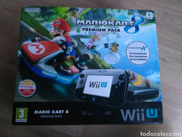 CONSOLA WII U 32 GB WIIU PREMIUM + MARIO KART 8 VERSIÓN PAL (Juguetes - Videojuegos y Consolas - Nintendo - Wii U)