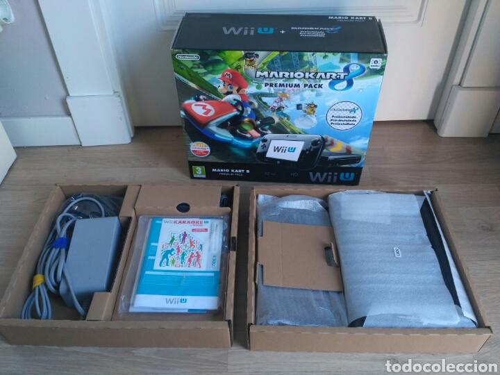 Nintendo Wii U: CONSOLA WII U 32 GB WIIU PREMIUM + MARIO KART 8 VERSIÓN PAL - Foto 3 - 138936202