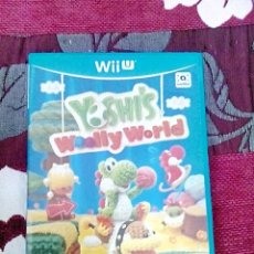Nintendo Wii U: YOSHI'S WOOLLY WORLD WII U. Lote 139949902