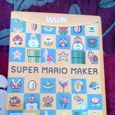 Nintendo Wii U: SUPER MARIO MAKER WII U. Lote 139950122