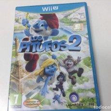 Nintendo Wii U: LOS PITUFOS 2. Lote 140891266