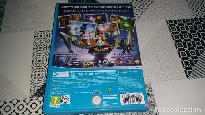 Juego La Lego Pelicula Wii U Pal Espana Complet Comprar Nintendo