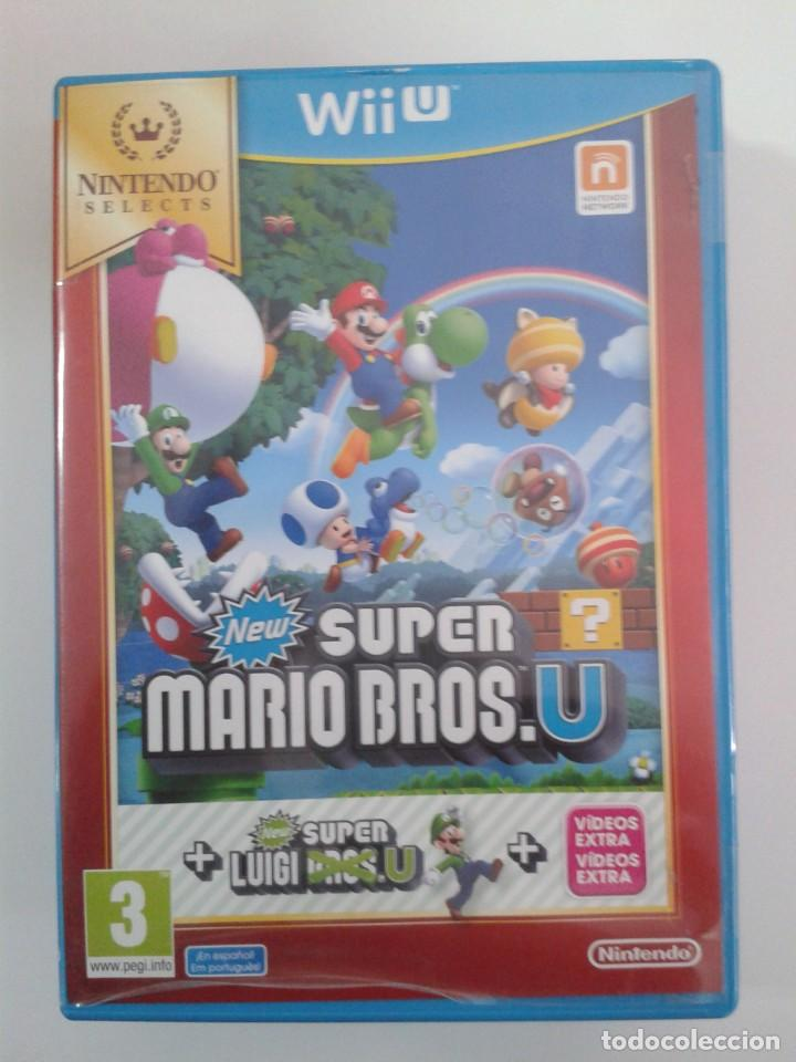 New Super Mario Bros  U + Luigi U  NINTENDO WII U