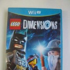 Nintendo Wii U: LEGO DIMENSIONS WII U (CONTIENE EL MANUAL). Lote 147063938