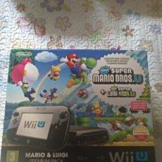 Nintendo Wii U: CAJA VACÍA NINTENDO WII U CON INTERIORES - VER FOTOS. Lote 147436350