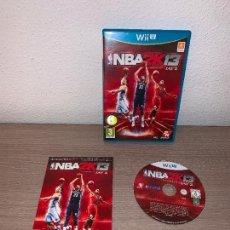 Nintendo Wii U: VIDEOJUEGO WII U NBA 2K13 JAY Z - COMPLETO. Lote 147739942