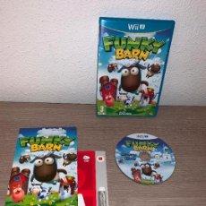 Nintendo Wii U: VIDEOJUEGO FUNKY BARN WII U - COMPLETO . Lote 147740106