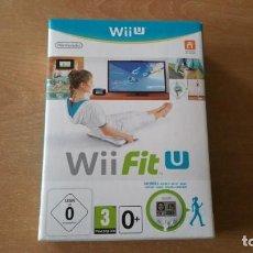 Nintendo Wii U: WII FIT U CON PODÓMETRO NINTENDO WII U PAL ESPAÑA PRECINTADO. Lote 151714606