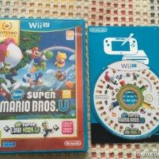 Nintendo Wii U: NEW SUPER MARIO BROS U + LUIGI U SELECTS NINTENDO WIIU WII-U KREATEN. Lote 153729182