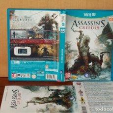 Nintendo Wii U: ASSASSIN´S CREED III - JUEGO CONSOLA WII U . Lote 154133954