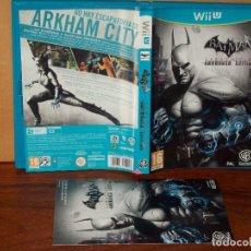 Nintendo Wii U: BATMAN - ARKHAM CITY AMOURED EDITION - JUEGO CONSOLA WII U . Lote 154134146