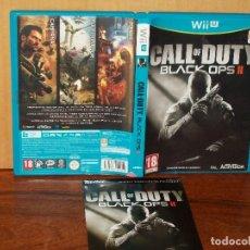 Nintendo Wii U: CALL OF DUTY BLACK OPS II - JUEGO CONSOLA WII U . Lote 154134298