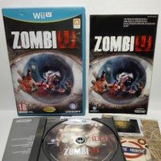 Nintendo Wii U: ZOMBI U NINTENDO WII U. Lote 154750902