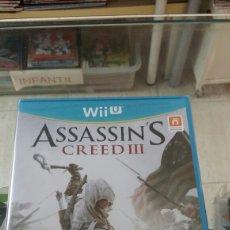 Nintendo Wii U: ASSASSIN'S CREED III. Lote 156807930