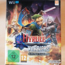 Nintendo Wii U: HYRULE WARRIORS LIMITED EDITION WII U. Lote 156825318