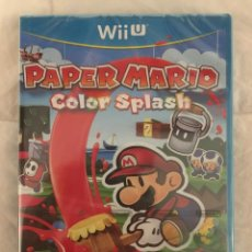 Nintendo Wii U: PAPER MARIO: COLOR SPLASH WII U PRECINTADO!!!. Lote 206286375