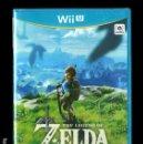 Nintendo Wii U: THE LEGEND OF ZELDA BREATH OF THE WILD WII U NUEVO PRECINTADO. Lote 159310874