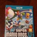 Nintendo Wii U: SUPER MARIO BROS.U PARA CONSOLA NINTENDO WII U. Lote 159692778