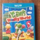 Nintendo Wii U: YOSHI'S WOOLLY WORLD NINTENDO WII U PAL ESPAÑA. Lote 159963448