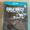 Nintendo Wii U: NINTENDO WIIU JUEGO CALL OF DUTY GHOSTS NUEVO. Lote 160086918