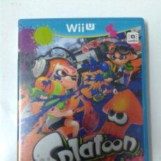 Nintendo Wii U: SPLATOON. WII U. Lote 160621034