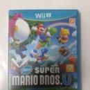 Nintendo Wii U: NEW SUPER MARIO BROS & SUPER LUIGI U. WII U. Lote 160623494