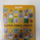 Nintendo Wii U: SUPER MARIO MAKER. WII U. Lote 160624858