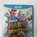 Nintendo Wii U: SUPER MARIO 3D WORLD. WII U. Lote 160627126