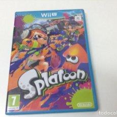 Nintendo Wii U: SPLATOON. Lote 203356416