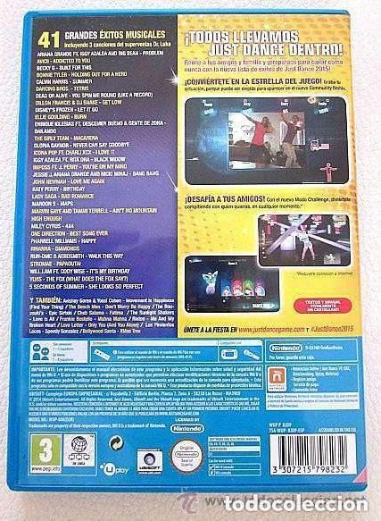 Nintendo Wii U: Just Dance 2015 Wii U Sin usar Nuevo - Foto 3 - 165041922