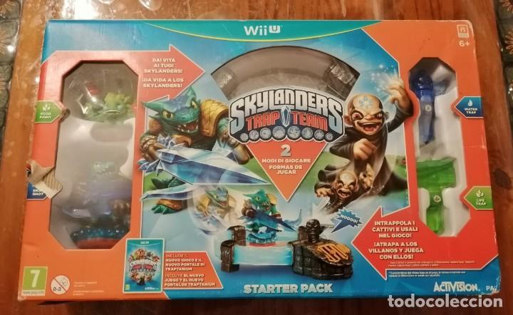 SKYLANDERS TRAP TEAM 2 WII U STARTER PACK. (Juguetes - Videojuegos y Consolas - Nintendo - Wii U)