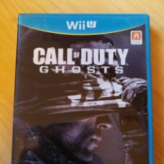 Nintendo Wii U: WII U - CALL OF DUTY - GHOSTS. Lote 167625412