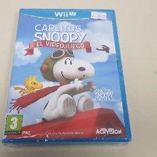 Nintendo Wii U: 619- CARLITOS Y SNOOPY WIIU VERSION ESPAÑOLA NUEVO PRECINTADO . Lote 167711728
