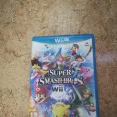 Nintendo Wii U: JUEGO SÚPER SMASH BROS WII U. Lote 170570830