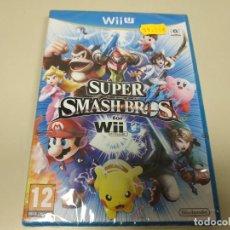 Nintendo Wii U: JJ-SUPER SMASH BROS NINTENDO WII U VERSION ESPAÑA NUEVO PRECINTADO. Lote 171587583