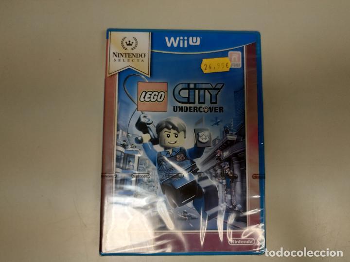 JJ-LEGO CITY UNDERCOVER NINTENDO WII U VERSION ESPAÑA NUEVO PRECINTADO (Juguetes - Videojuegos y Consolas - Nintendo - Wii U)