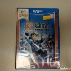Nintendo Wii U: JJ-LEGO CITY UNDERCOVER NINTENDO WII U VERSION ESPAÑA NUEVO PRECINTADO. Lote 171589573