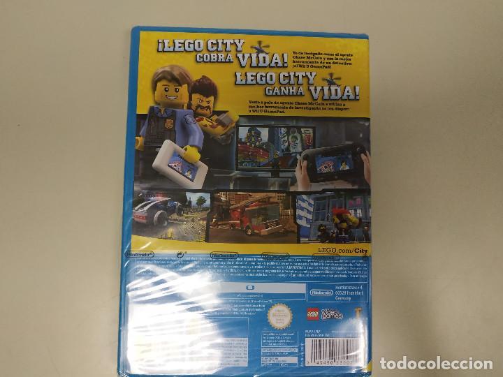 Nintendo Wii U: JJ-LEGO CITY UNDERCOVER NINTENDO WII U VERSION ESPAÑA NUEVO PRECINTADO - Foto 2 - 171589573